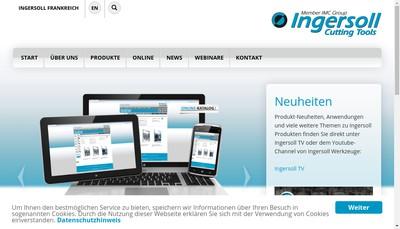 Site internet de Ingersoll France