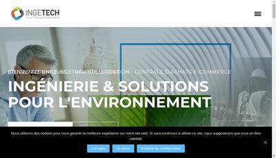 Site internet de Ingetech