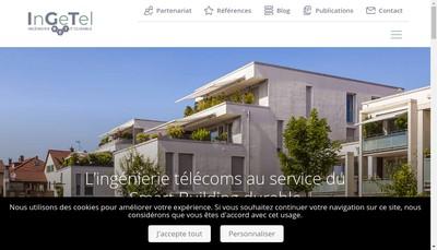 Site internet de Ingetel BET