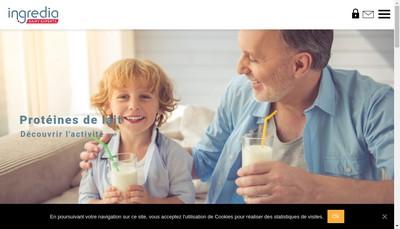 Site internet de Ingredia