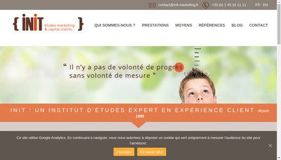 Site internet de Init Init Productions Init Editions