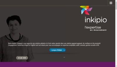 Site internet de Inkipio
