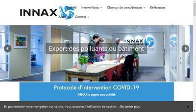 Site internet de Innax