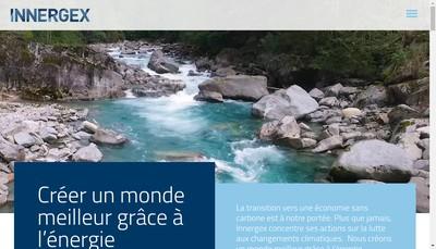 Site internet de Innergex Poitou-Charentes