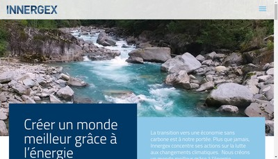 Site internet de Innergex du Rechet