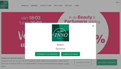 Site internet de Inno