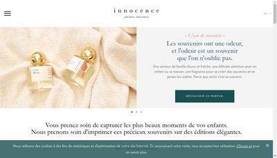 Site internet de Innocence