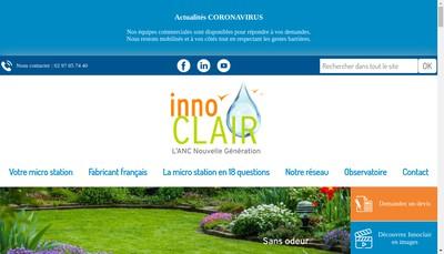 Site internet de Innoclair