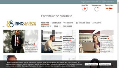 Site internet de Innoliance Cba