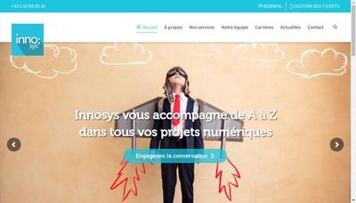 Site internet de Innosys