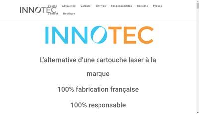 Site internet de Innotec