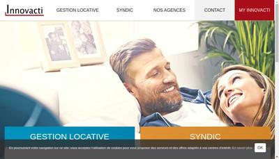 Site internet de Innovacti