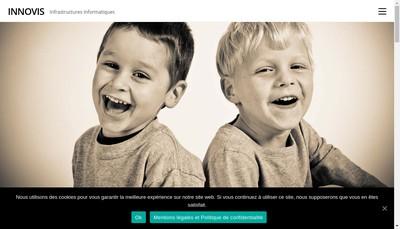 Site internet de Innovis