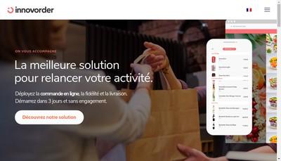 Site internet de Innovorder