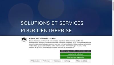 Site internet de Ino Telecom