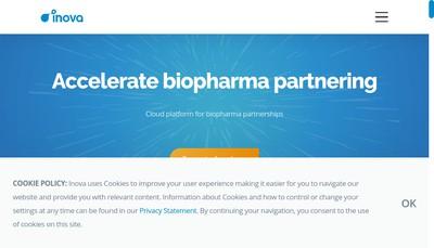 Site internet de Inova Software