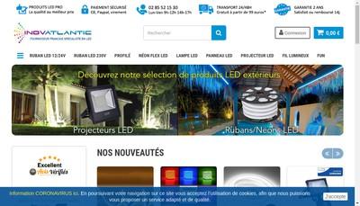 Site internet de Inovatlantic