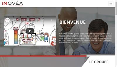 Site internet de Inovea Finance