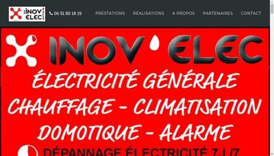Site internet de Inov'Elec Repiton