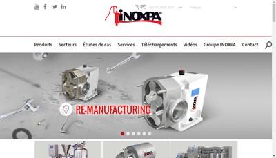Site internet de Inoxpa Solutions France