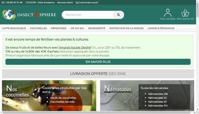 Site internet de Insectosphere
