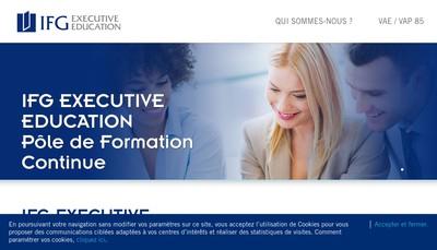 Site internet de Inseec Executive Education