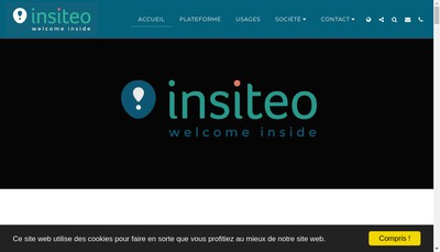 Site internet de Insiteo