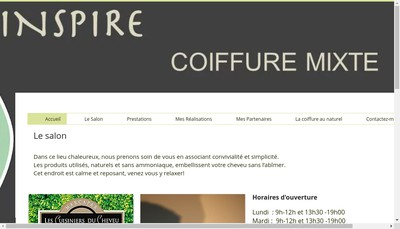Site internet de Inspire
