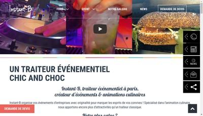 Site internet de Instant-B