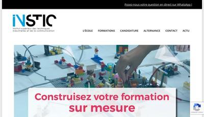 Site internet de Instic 3Is Lyon
