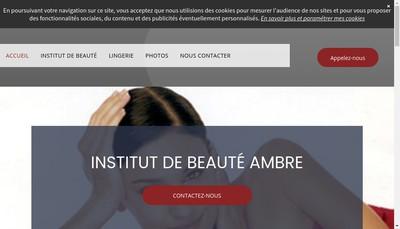 Site internet de Ambre