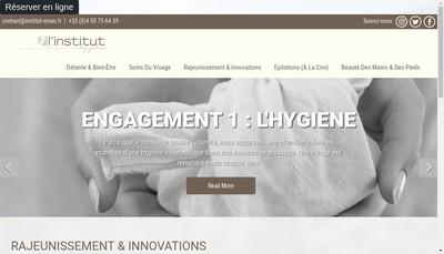 Site internet de L'Institut By Julien