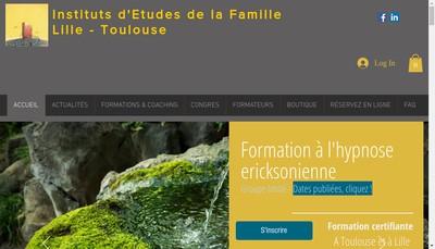 Site internet de Institut d'Etudes de la Famille