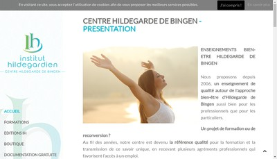 Site internet de Institut Hildegardien