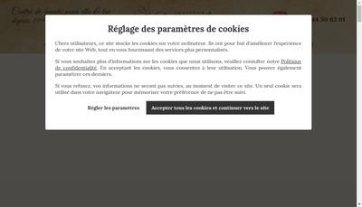 Site internet de Institut Magali