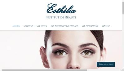 Site internet de Esthelia