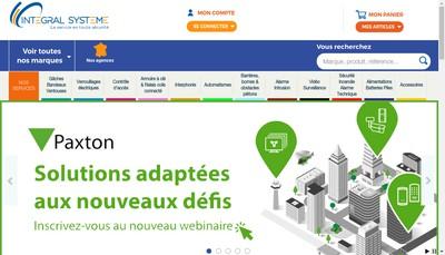 Site internet de Integral Systeme Midi Pyrenees