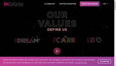 Site internet de Intelcia France