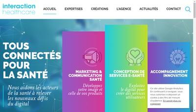 Site internet de Groupe Interaction