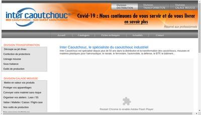 Site internet de Midi Caoutchouc