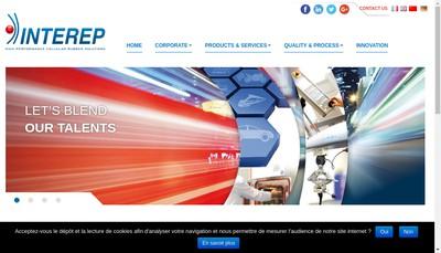 Site internet de Interep