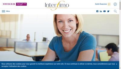 Site internet de Interfimo