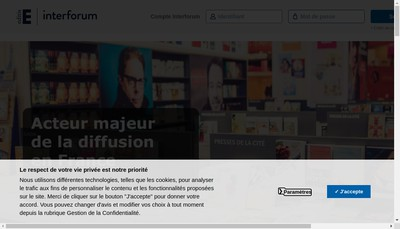 Site internet de Interforum