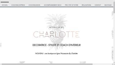 Site internet de Interieur By Charlotte