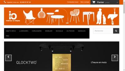 Site internet de Interieur et Objets