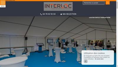 Site internet de Interloc