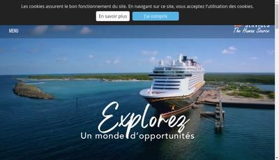 Site internet de International Services Industrie