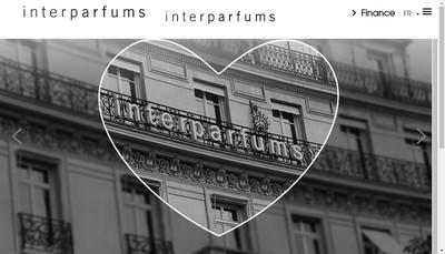Site internet de Interparfums Holding