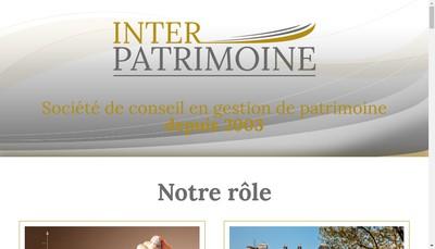 Site internet de Inter - Patrimoine