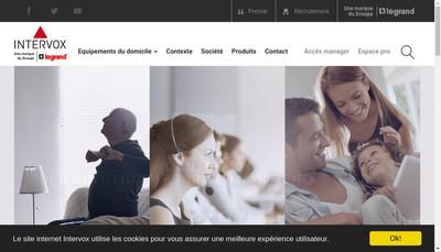 Site internet de Intervox Systemes